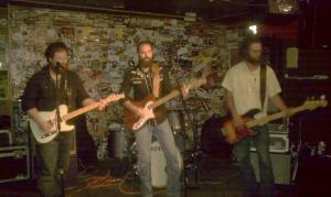 Justin, Jesse and Adam from the Dock Ellis Band