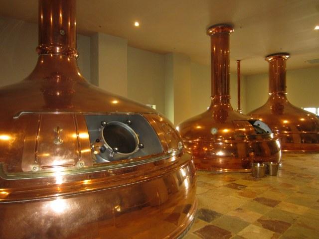 New Glarus Copper Barrels