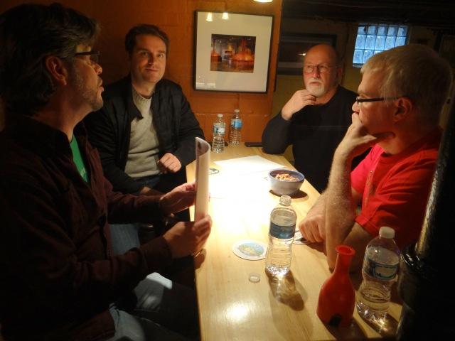 Team 1 - Hans, Jeremy, Tim and George