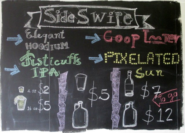 Sideswipe_Menu Board