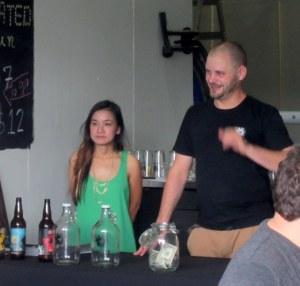 Craig O'Herron owner and head brewer at Sideswipe.