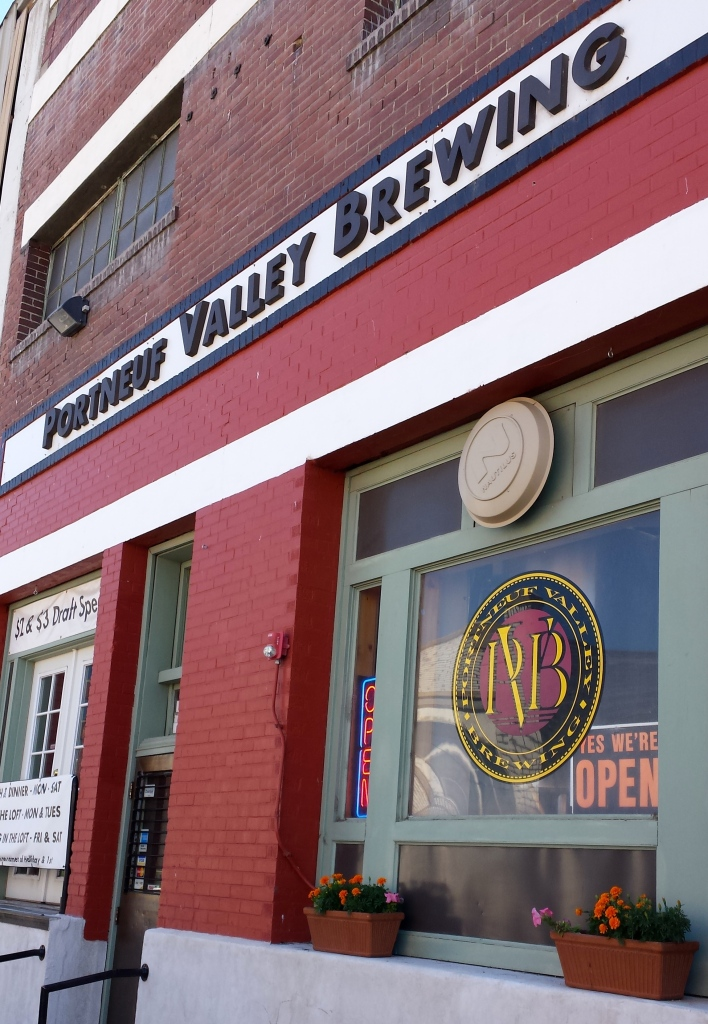 Portneuf Valley Brewing is housed in the old East Idaho Brewing Company building.
