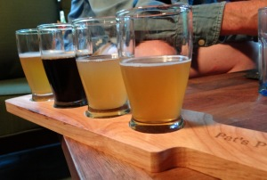 Saison Tasting Flight