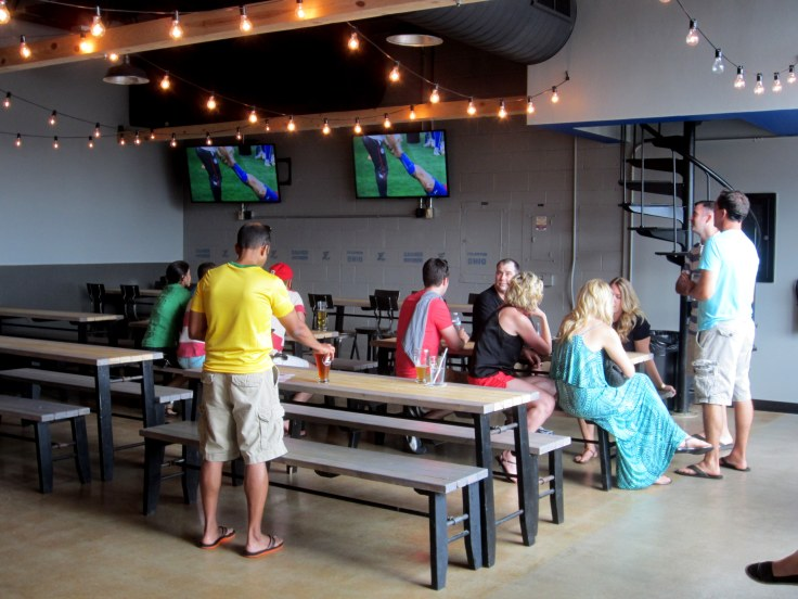 The World Cup at Zauber Brewing.
