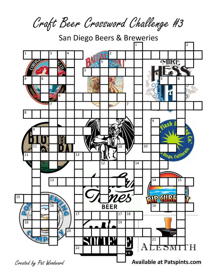 san diego beer crossword