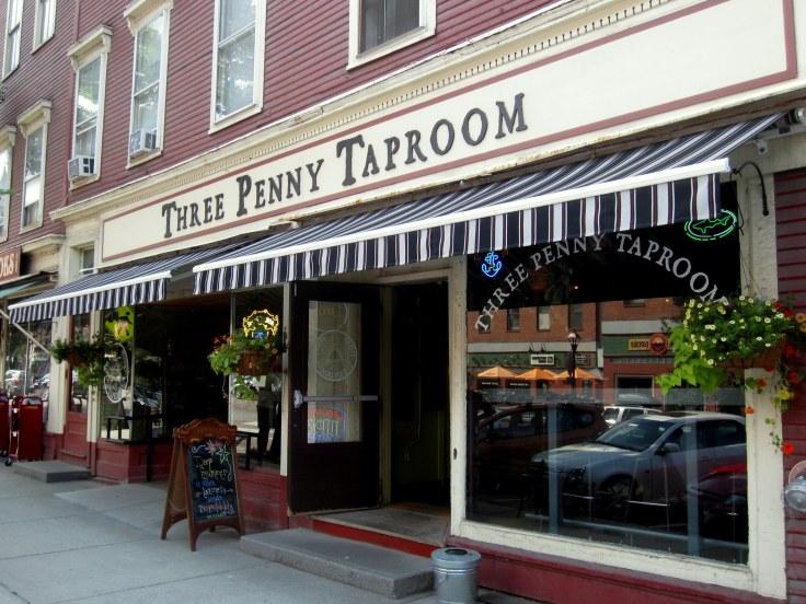 The Three Penny Taproom, inside awaits hop goodness.