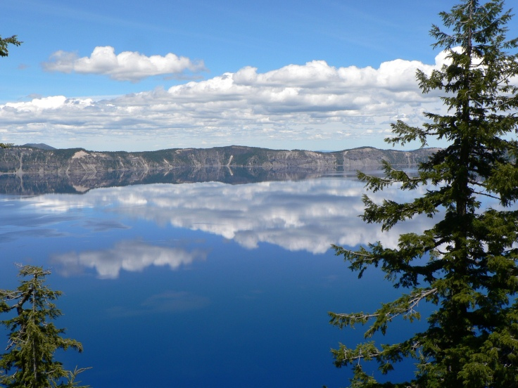 Crater Lake, photo taken during our 2013 summer vacation to Oregon.