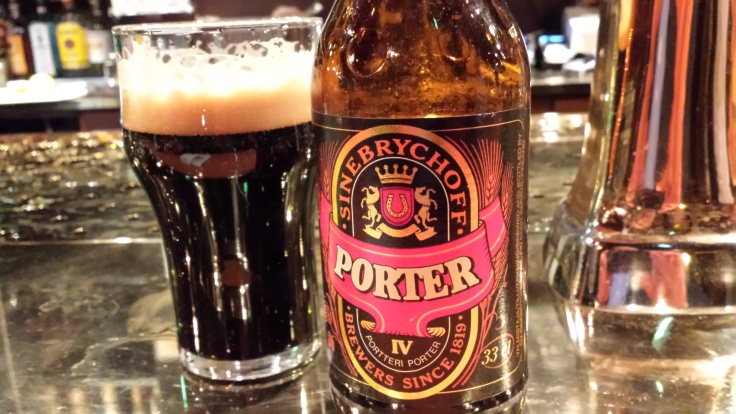 Sinebrychoff's classic take on the Baltic porter style.