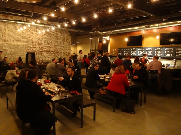 WR Taproom opening night
