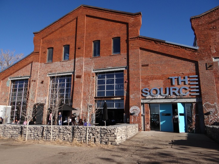 The Source is an artisan market housed in a former brick foundry.