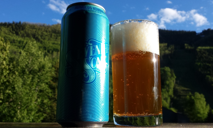 At 9000 feet this pale ale can finally get close to the  cumulonimbus clouds that are half of its namesake.