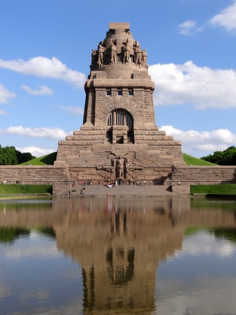 The massive Monument to the Battle of the Nations is one of Leipzig's most iconic landmarks.
