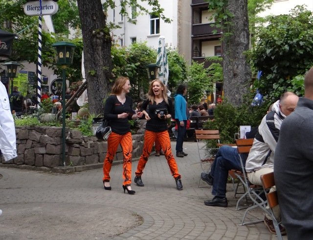 Unfortunately, not every beer garden in Germany sports girls in tiger striped pants handing out free samples of potent German liquor.