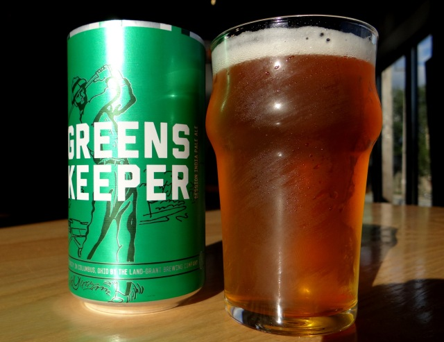 A prototype of the greenskeeper can that will hit shelves later this year.