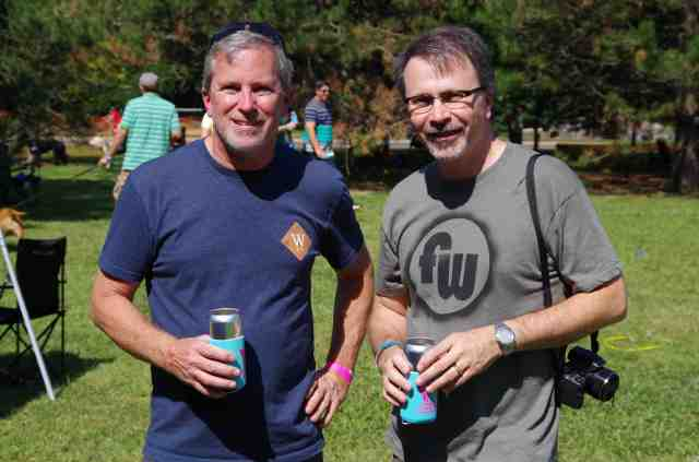Wolf's Ridge owner Alan Szuter and your's truly.