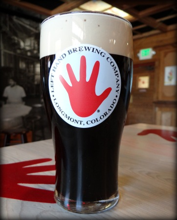 The creamy, chocolaty goodness of Left Hand Milk Stout on nitro.