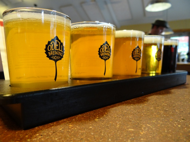 Happiness is dispensed four ounces at a time at Odell Brewing.