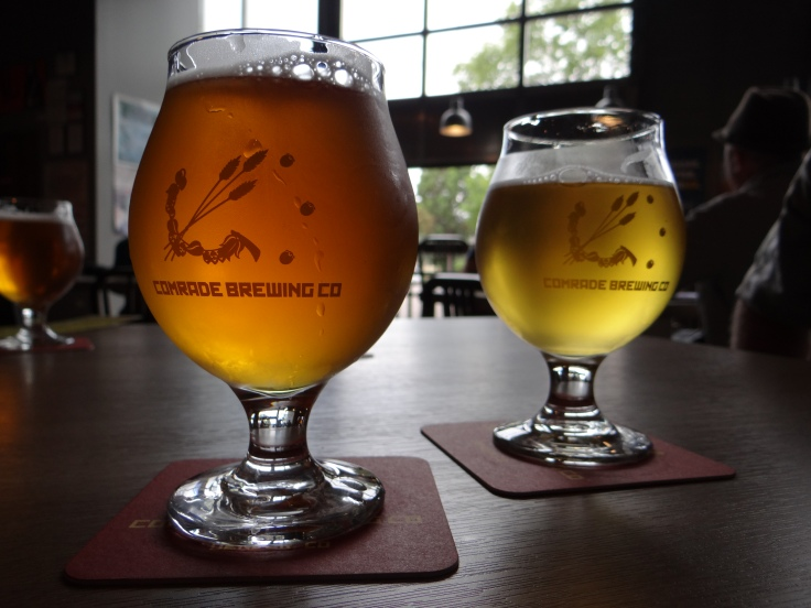 Is Superpower IPA (foreground) the best IPA in Denver?