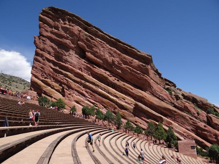 Red Rocks Amphitheater.