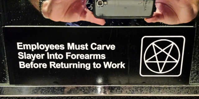 They take hygiene seriously at Trve.