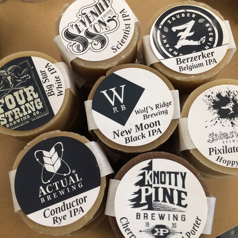 local beer soaps