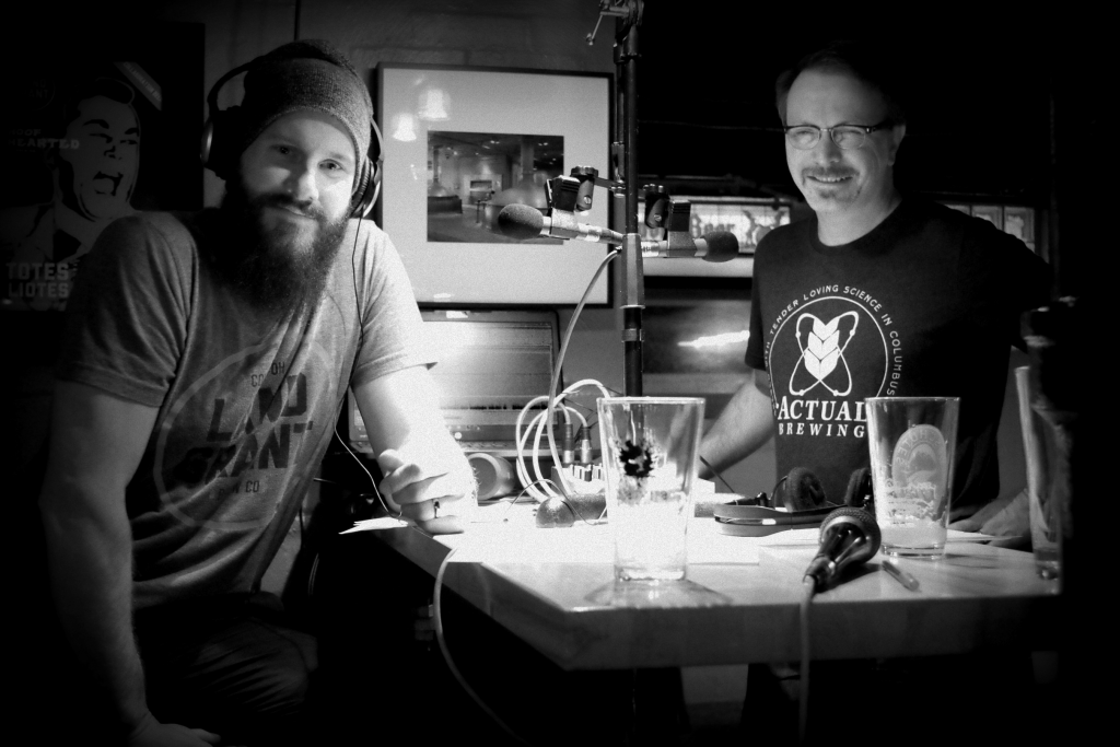 Your hosts for a deep dive into the world of Ohio craft beer - Mark Richards (left) and Pat Woodward (right).