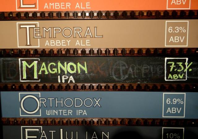 magnon_menu board