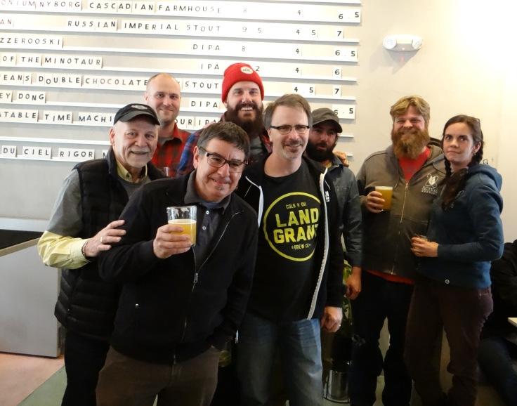 Bar Crawl Group Photo Hoof Hearted