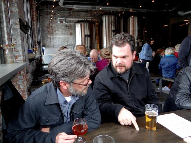 Hans and Chris Bar Crawl