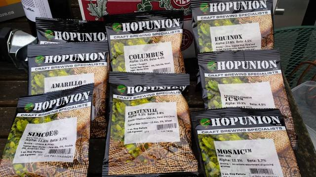 hops for homebrew