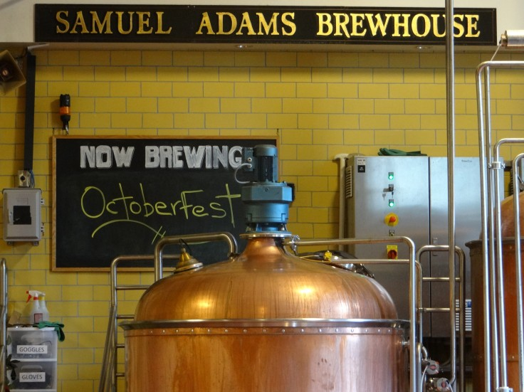 Sam Adams Brewkettle