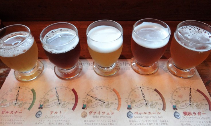 Yokohama Brewing Flight