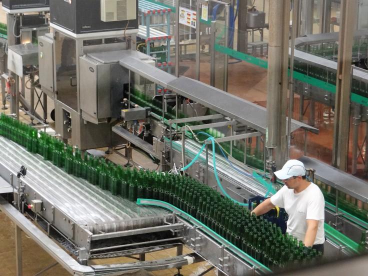 Pilsner Urquell Bottling Line