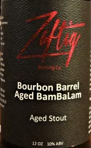 zaftig BamBaLam label