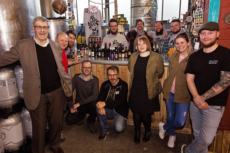 Bygone Beers Tasting Group Photo