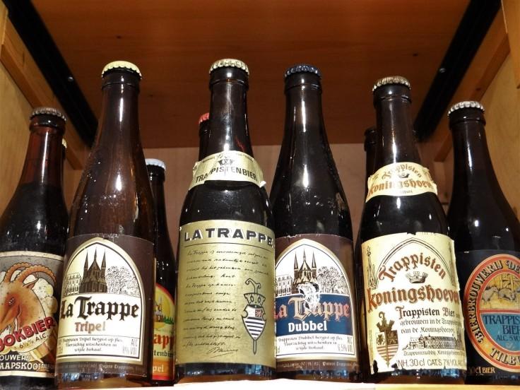 La Trappe Old Bottles