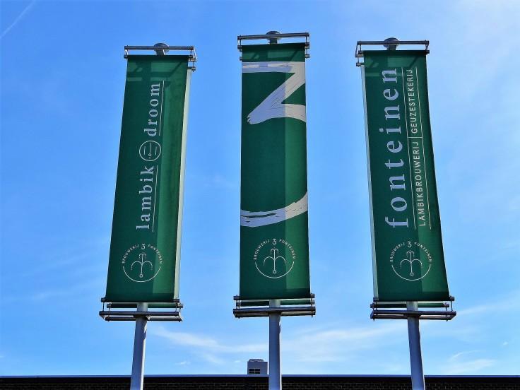 Drie Fonteinen Flags
