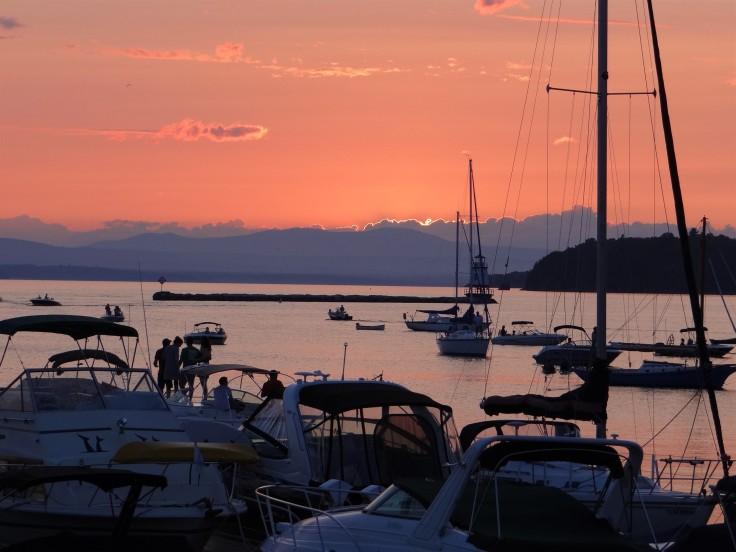 Sunset Lake Champlaign
