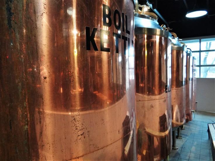 Actual Brew Tanks