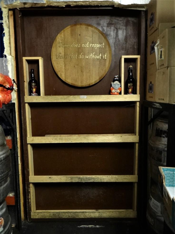 Block 15 Barrel Room Door
